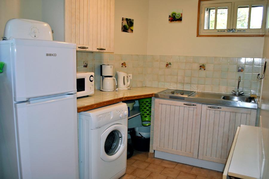 Domaine de bellevue le meubl la cuisine for Meuble cuisine petit espace